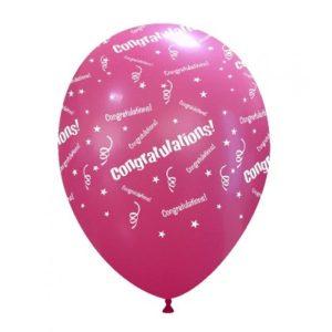 Palloncini stampa globo - congratulations (globo)