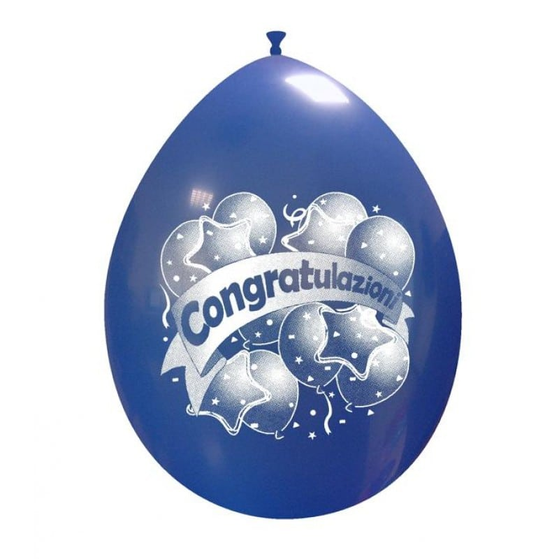 Palloncini festa - congratulazioni