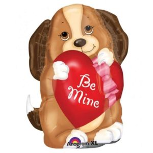 """Palloncini amore - cucciolo con cuore xl® (24"""")"""