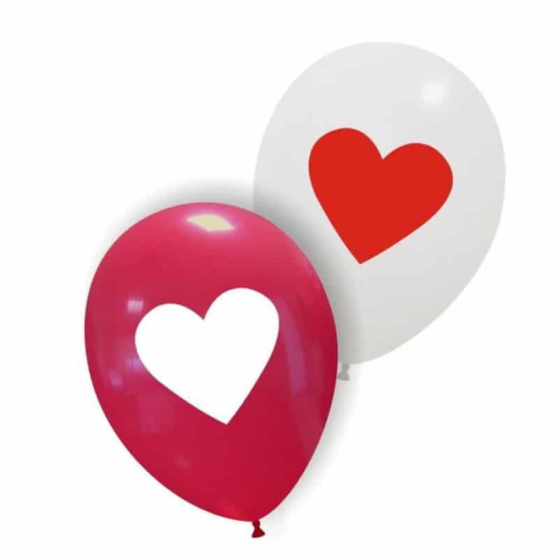 Palloncini amore - cuore