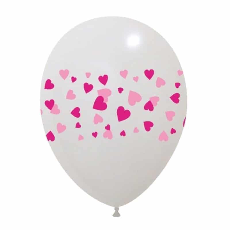 Palloncini amore - cuori 2 colori