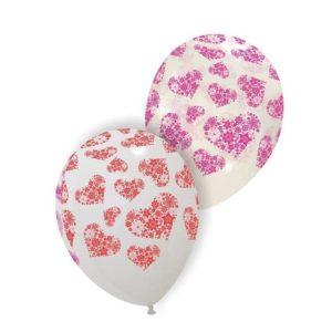 Palloncini amore - cuori di fiori