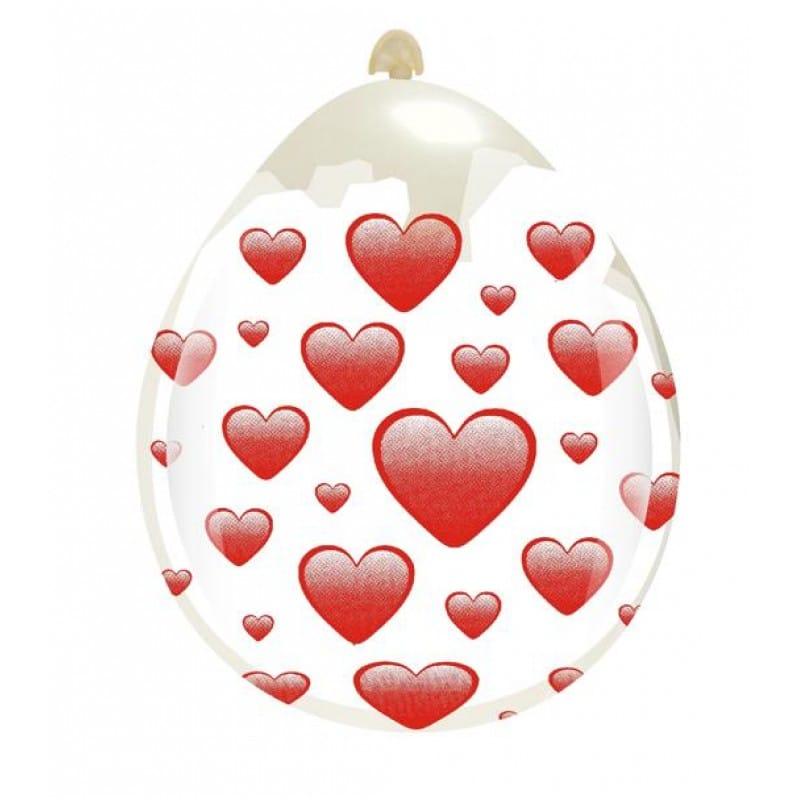 Palloncini amore - cuori grandi
