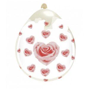 Palloncini amore - cuori rose