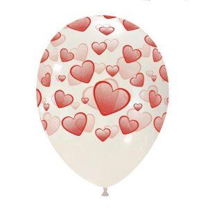 Palloncini amore - cuori sfumati