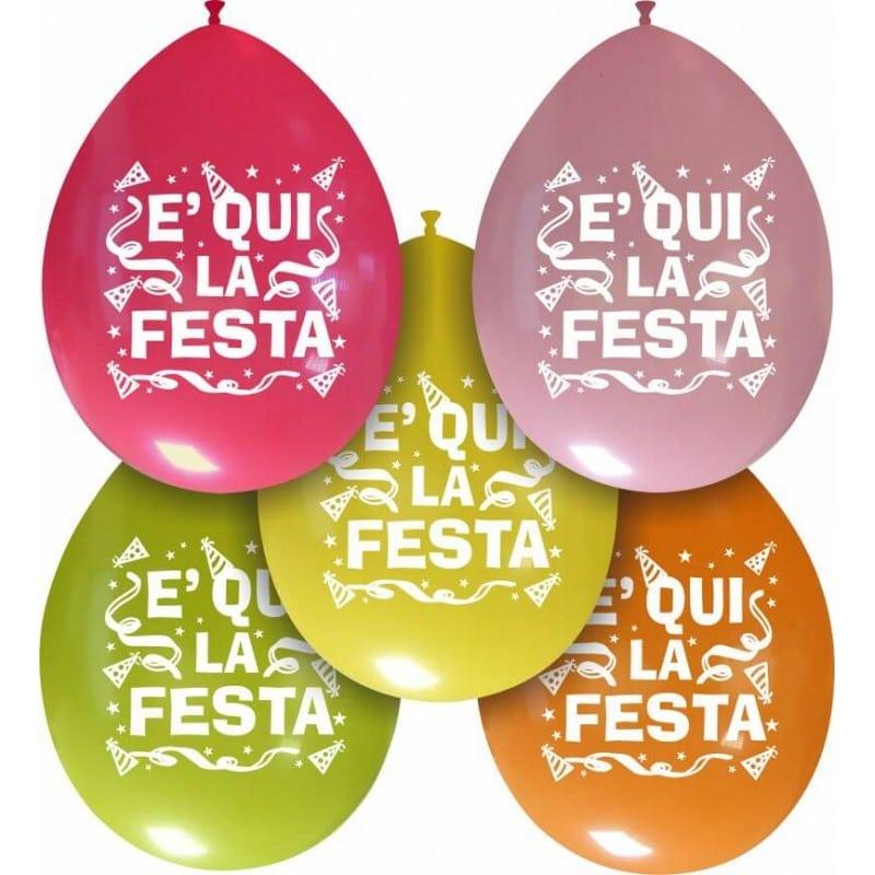 Palloncini festa - e' qui la festa (edizione limitata)