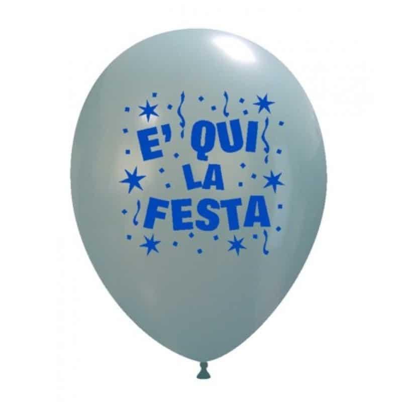 Palloncini festa - e qui la festa