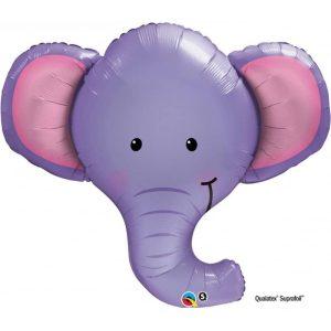"Palloncini mylar animali Elefante SuperShape (39"")"