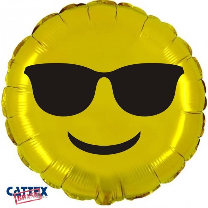 "Palloncini mylar vari Emoji Cool (18"")"
