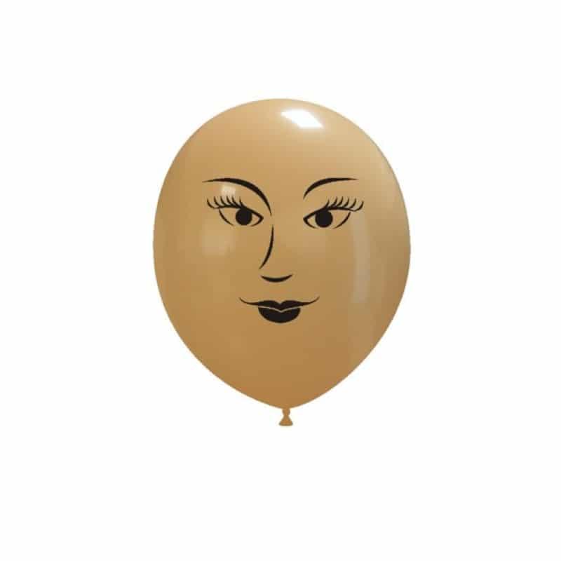 Palloncini facce - faccia donna