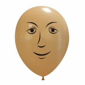 Palloncini facce - faccia uomo