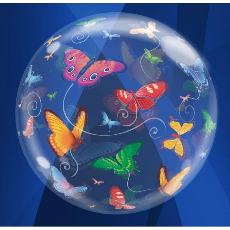 "Palloncini bubbles - farfalle (22"")"