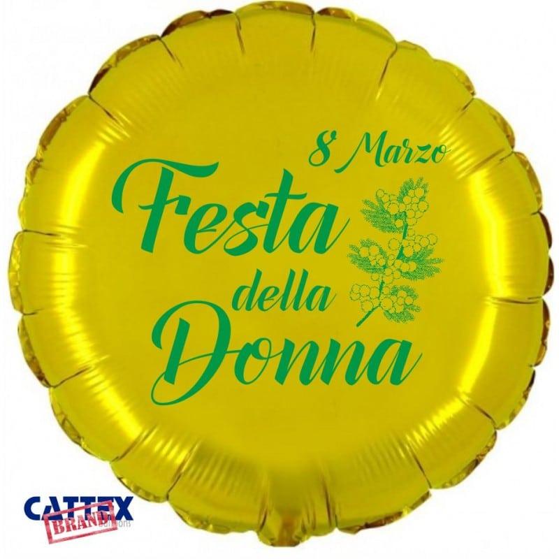 "Palloncini mylar vari Festa della Donna (18"")"
