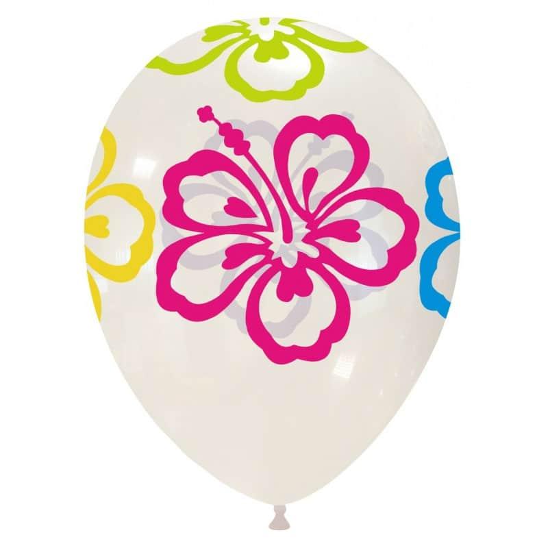 Palloncini stampa globo - fiore (edizione limitata)