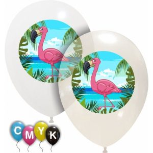 Palloncini animali - flamingo - full color (cmyk)