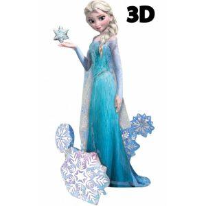 "Palloncini mylar Personaggi Frozen - Elsa Airwalker (57"")"
