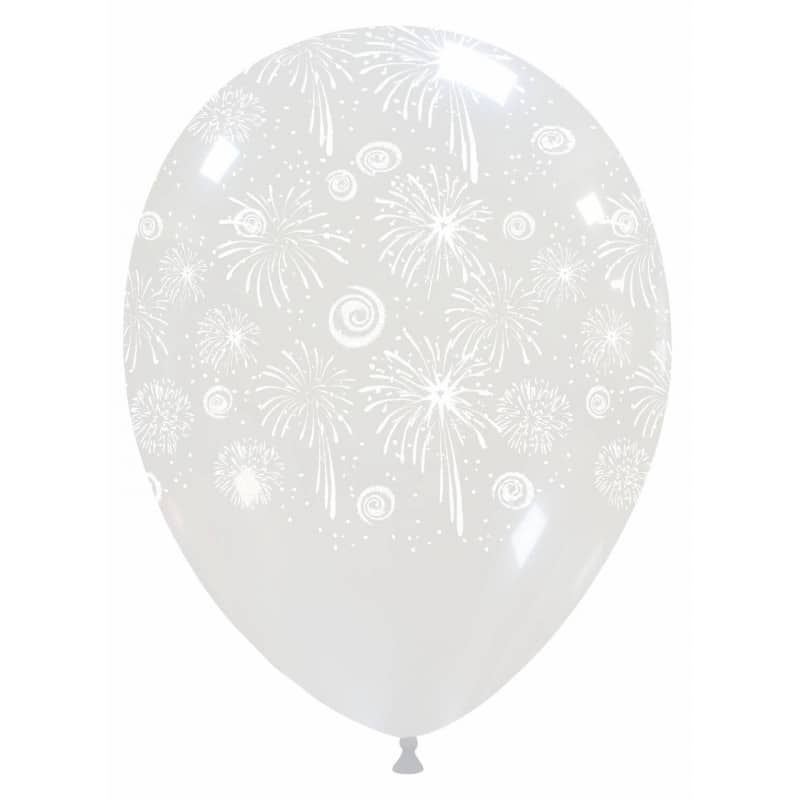 Palloncini stampa globo - fuochi d'artificio (edizione limitata)