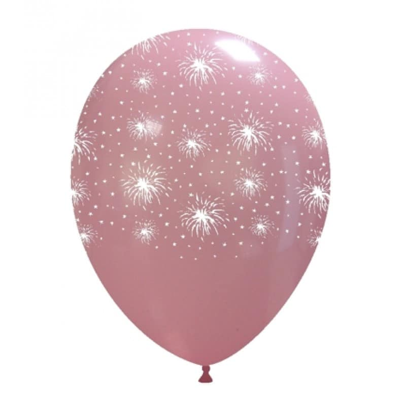 Palloncini stampa globo - fuochi d artificio e stelle