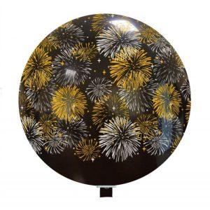Palloncini natalizi - fuochi d'artificio (2 colori)