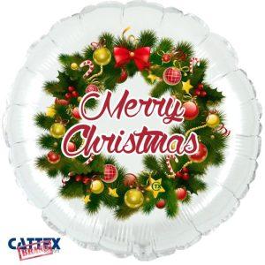 """Palloncini natalizi - ghirlanda merry christmas (18"""")"""