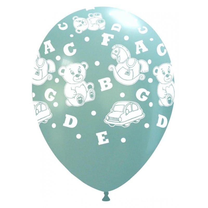 Palloncini stampa globo - giocattoli grandi celeste (edizione limitata)