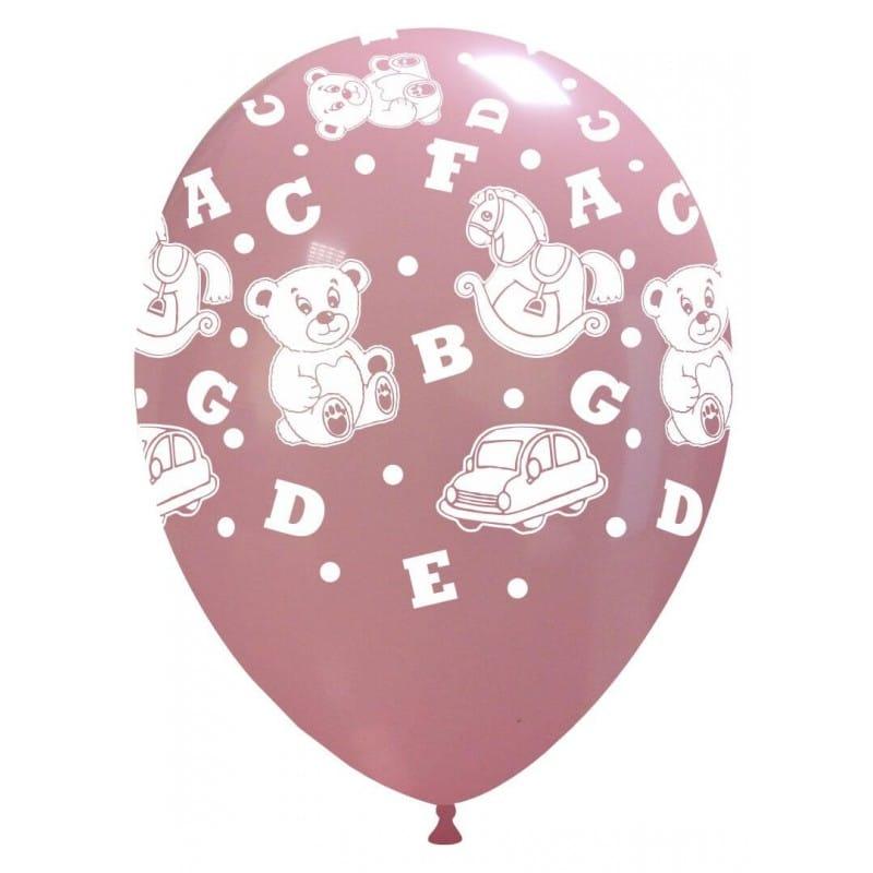 Palloncini stampa globo - giocattoli grandi rosa (edizione limitata)