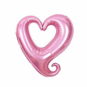 "Palloni Mylar Sagomati Hollow Heart - Hollow Heart (18"")"