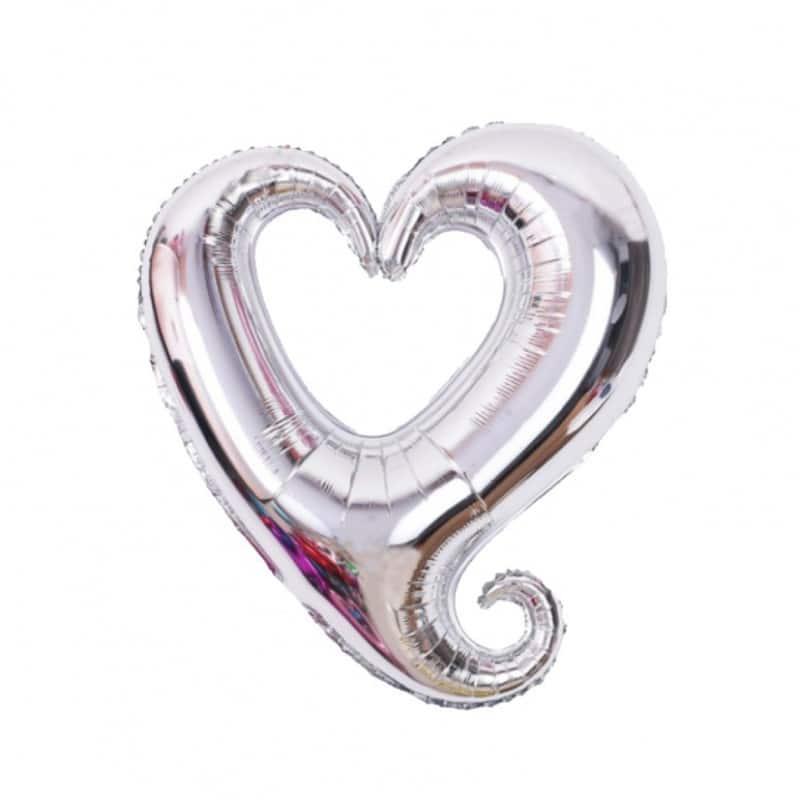 "Palloni Mylar Sagomati Hollow Heart - Hollow Heart SuperShape (43"")"