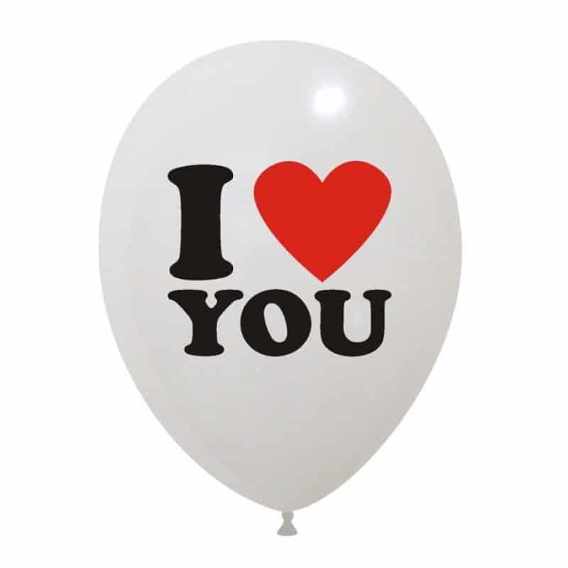 Palloncini amore - i love you 2 colori