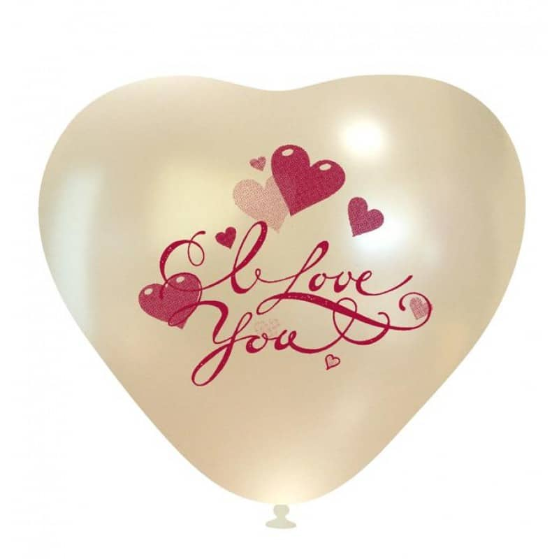Palloncini amore - i love you cuoricini