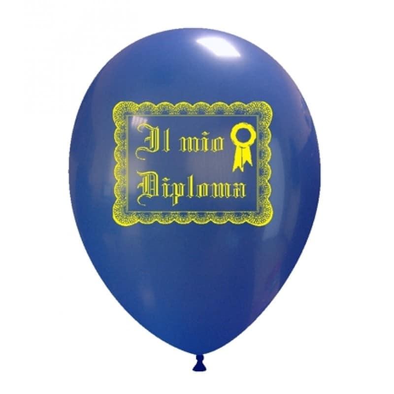 Palloncini scolastico - il mio diploma
