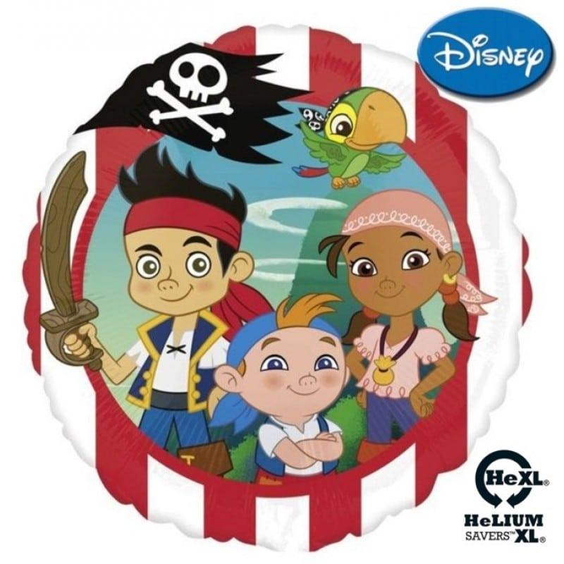 "Palloncini mylar Personaggi Jake e i Pirati HeXL® (18"")"