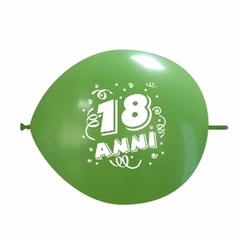 Palloncini compleanno LINK - 18 Anni saldi