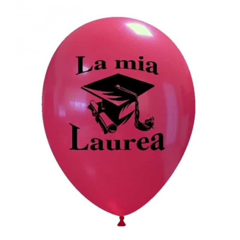 Palloncini scolastico - la mia laurea