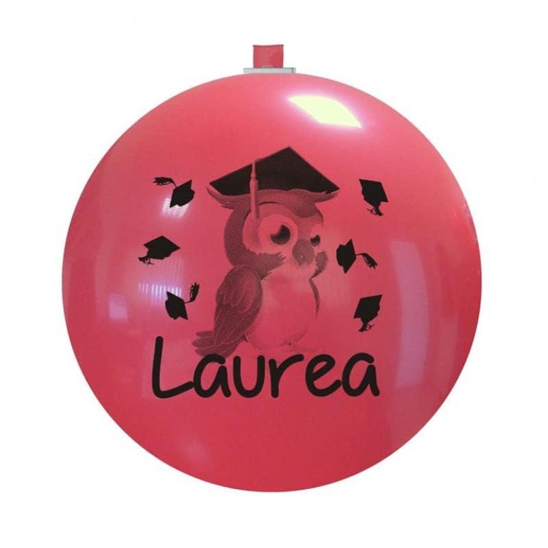 Palloncini scolastico - laurea gufetto