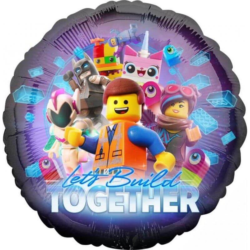"Palloncini mylar Personaggi Lego Movie 2 (18"")"