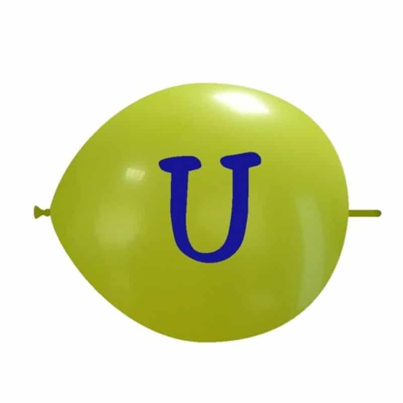Palloncini lettere - lettere (n-z)