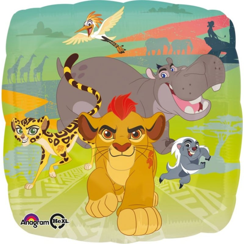 "Palloncini mylar Personaggi Lion Guard (18"")"
