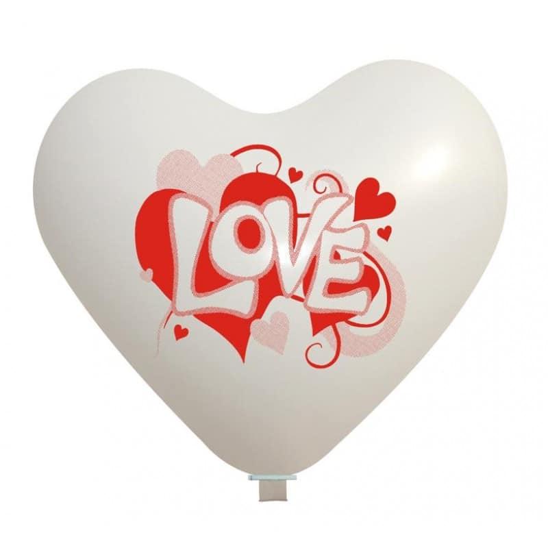 Palloncini amore - love