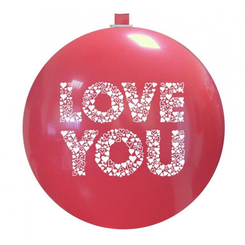 Palloncini amore - love you cuoricini