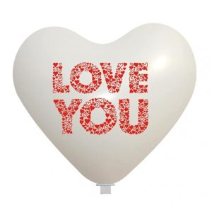 Palloncini amore - love you cuoricini