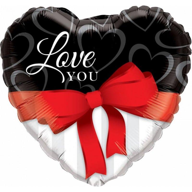 "Palloncini amore - love you fiocco supershape (36"")"