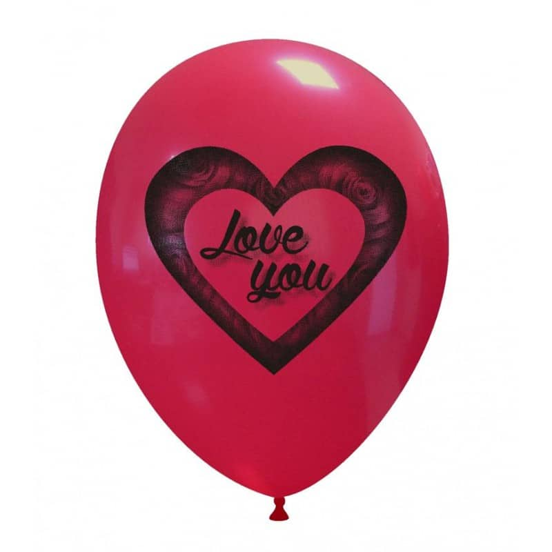 Palloncini amore - love you rose
