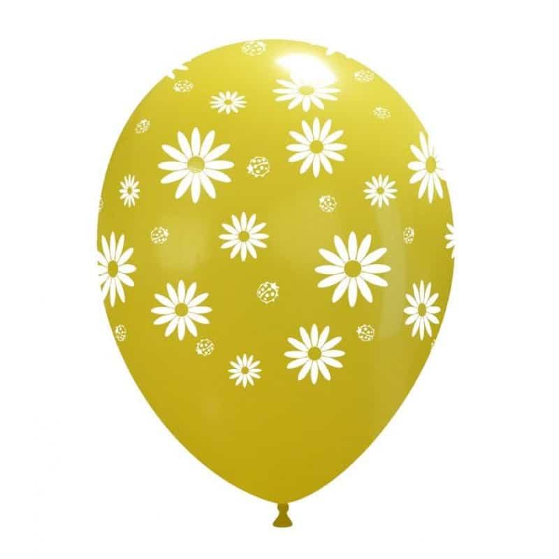 Palloncini stampa globo - margherite