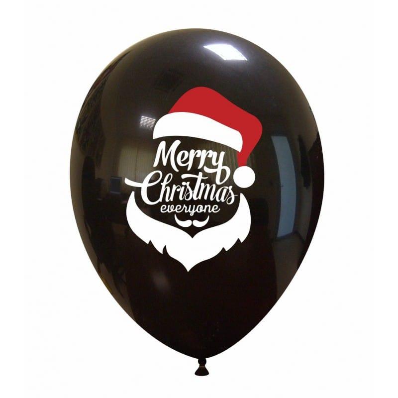 Palloncini natalizi - merry christmas everyone (babbo)