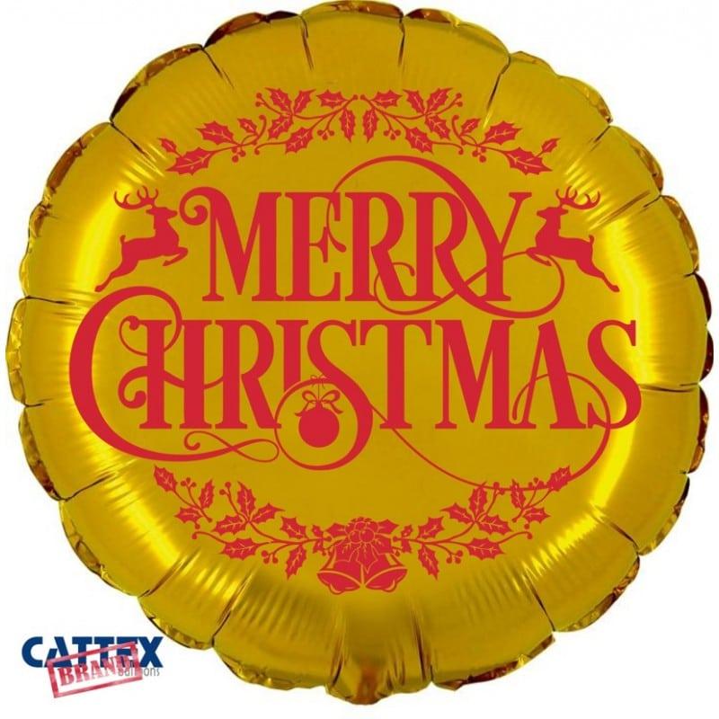 "Palloncini natalizi - merry christmas renne (18"")"