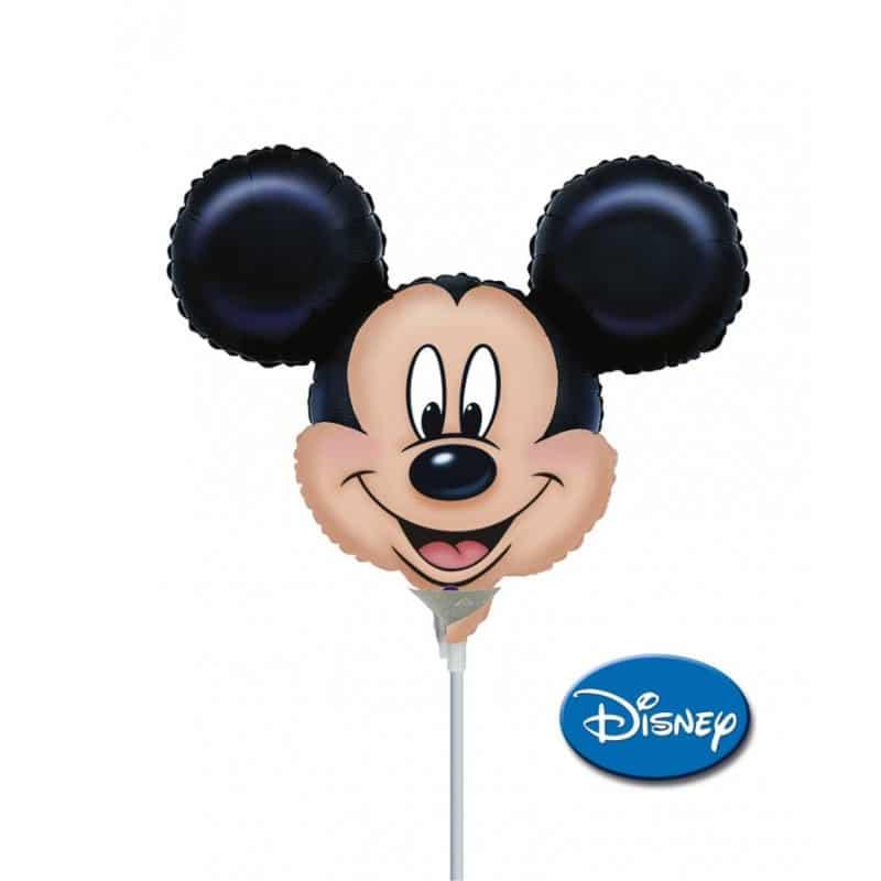 """Palloncini mylar Personaggi Mickey Faccia MiniShape (14"""")"""