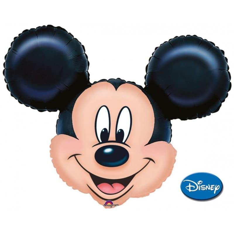 """Palloncini mylar Personaggi Mickey Faccia XL® SuperShapes™ (32"""")"""