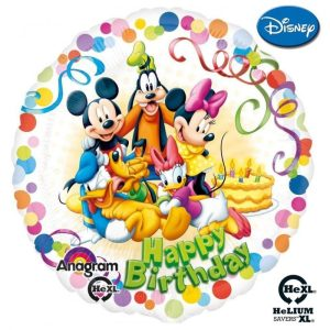 "Palloncini compleanno Mickey & Friends Birthday Party HeXL® (18"")"