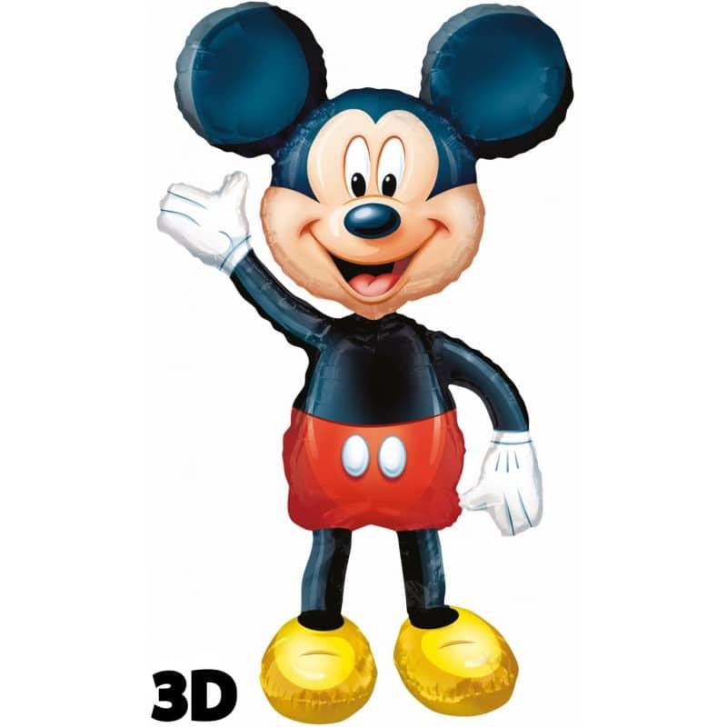 "Palloncini mylar Personaggi Mickey Mouse Airwalker (52"")"